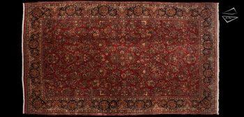 11x19 Persian Sarouk Rug