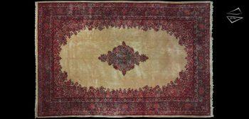 12x18 Persian Sarouk Rug