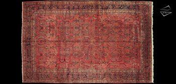 12x19 Persian Sarouk Rug