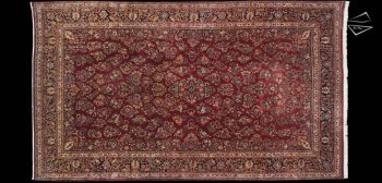 12x21 Persian Sarouk Rug