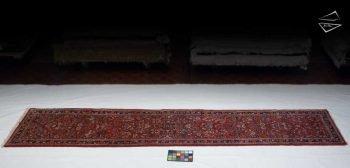 3x14 Persian Sarouk Rug Runner