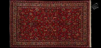 6x10 Persian Sarouk Rug