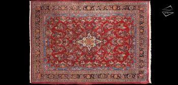 7x10 Persian Sarouk Rug