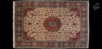9x14 Persian Sarouk Rug