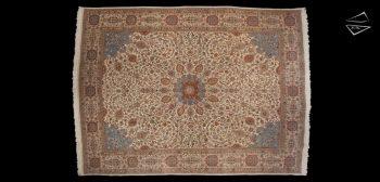 13x17 Persian Tabriz Rug