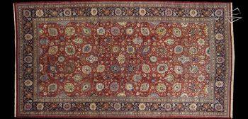13x24 Persian Tabriz Rug