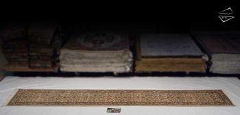 3x17 Persian Tabriz Rug Runner