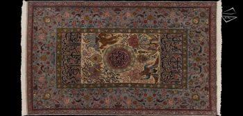 6x10 Persian Tabriz Rug