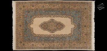 7x11 Persian Tabriz Rug