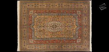 8x11 Persian Tabriz Rug