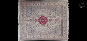 11x13 Persian Tabriz Square Rug