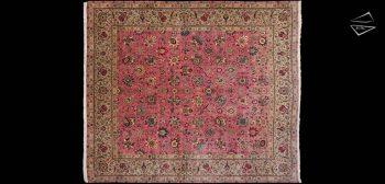 12x14 Persian Tabriz Square Rug