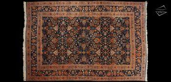 10x15 Persian Yezd Rug