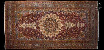 12x23 Persian Yezd Rug