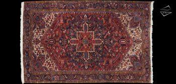 9x14 Persian Zarneh Rug