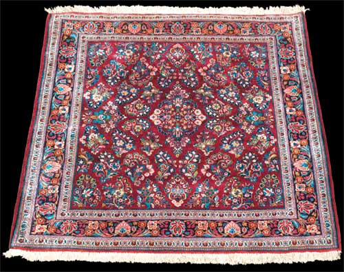 Rugs and carpets aging