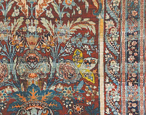 Rugs and carpets nature