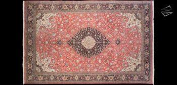 13x20 Silk Persian Qum Rug