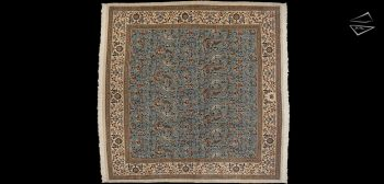 12x12 Square Persian Tabriz