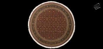 10x10 Tabriz Design Round Rug