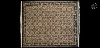 10x12 Trellis Design Square Rug