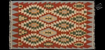 6x10 Turkish Kilim Rug