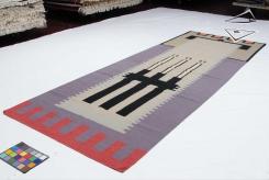 Modern Design Kilim Style Rug Runner