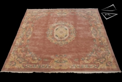 Aubusson Design Square Rug