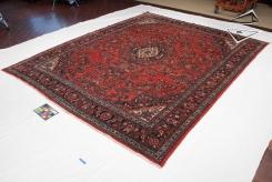Persian Kazvin Square Rug