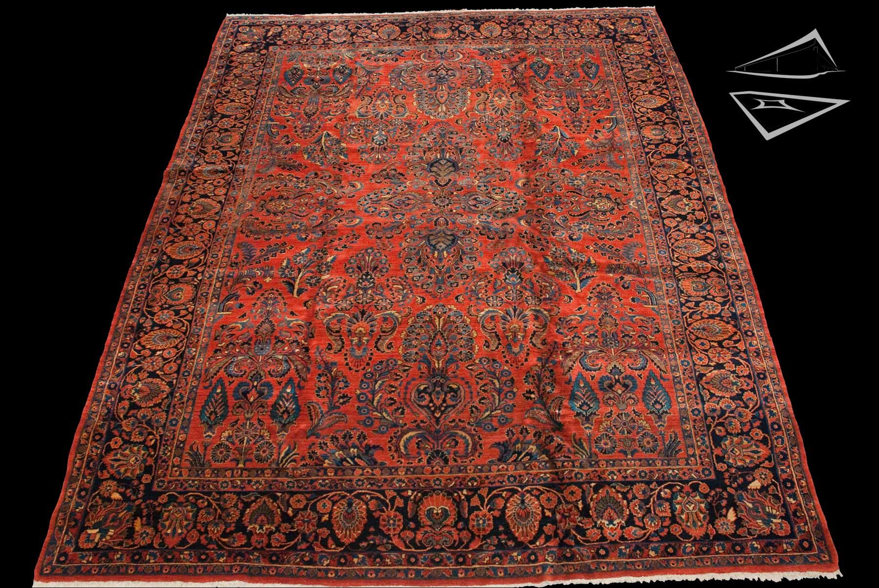 11x14 Persian Sarouk Rug Large Rugs Amp Carpets