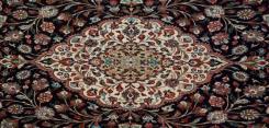 Silk Persian Qum Rug