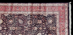 Tabriz Design Square Rug