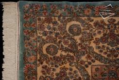 Persian Kerman Crown Rug