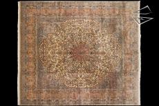 Persian Cyrus Crown Square Rug