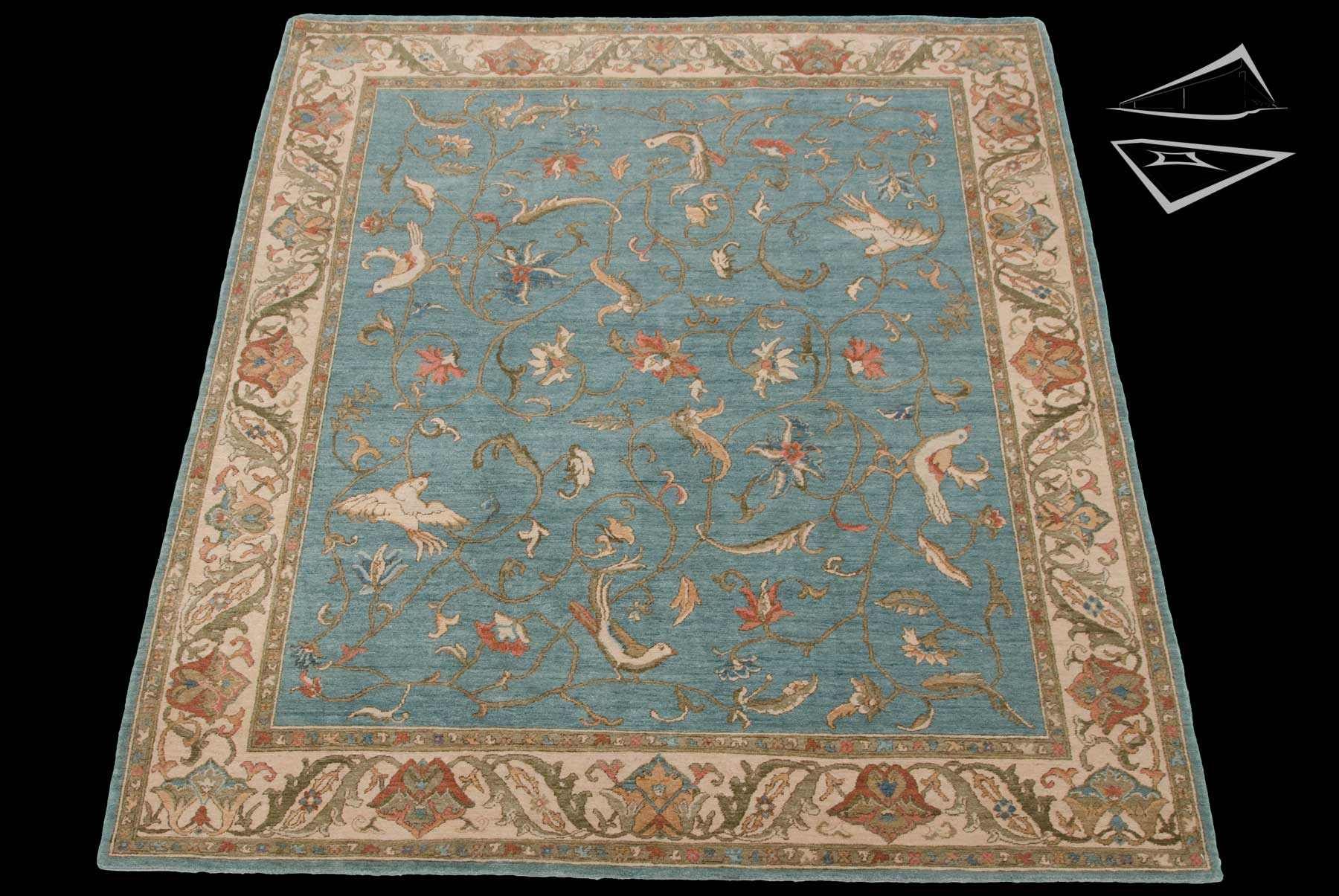 8x10 Bird Design Rug Large Rugs Amp Carpets