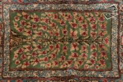 Persian Kerman Garden Panel Rug