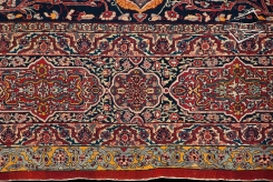 Haji Jalili Antique Tabriz Rug