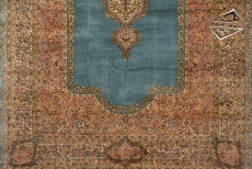 Persian Cyrus Crown Kerman Rug