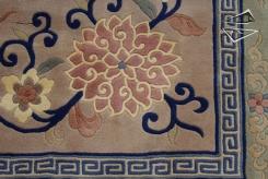Peking Design Square Rug