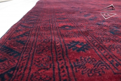 Afghan Ersari Square Rug