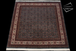 Herati Design Square Rug