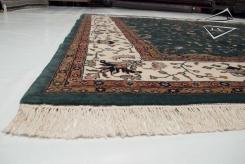 Farahan Sarouk Design Square Rug