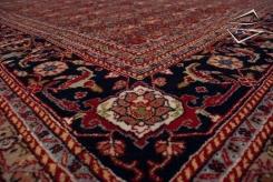 Herati Tabriz Design Square Rug