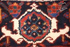 Persian Mehrivan Square Rug