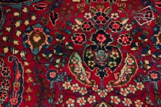 Persian Tabriz Square Rug