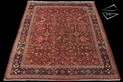 Persian Mahal Square Rug