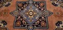 Persian Meshkin Square Rug