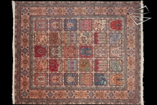 Persian Tabriz Panel Rug