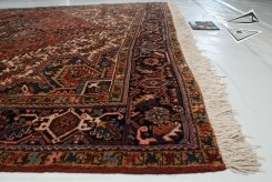 Persian Heriz Square Rug