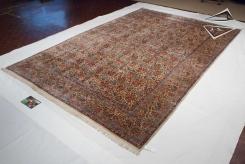 Persian Laver Kerman Rug